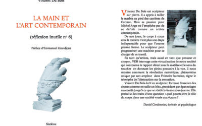 La main et l'art contemporain