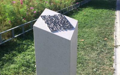 A Plainpalais, un QR code en mémoire d'un insoumis
