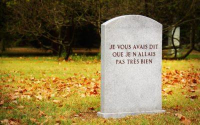 """""""Open End"""", cimetière des Rois"""