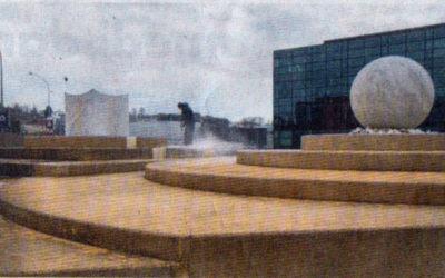 La rénovation d'une fontaine irrite les élus